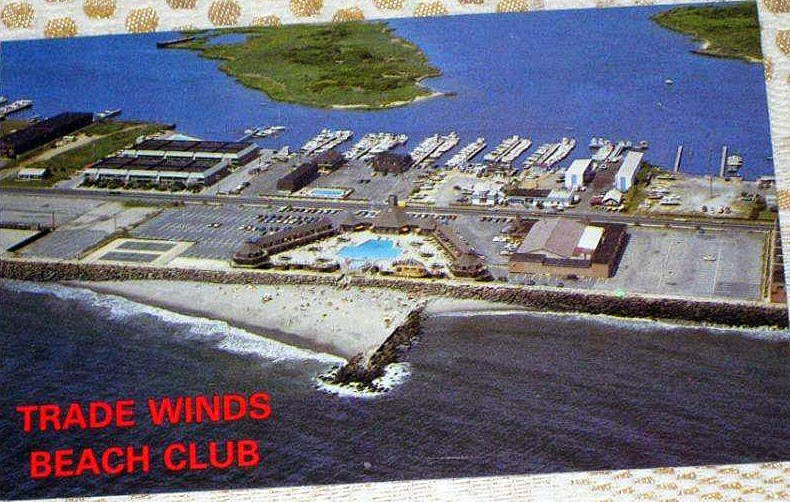 The Trade Winds Club in Sea Bright, New Jersey