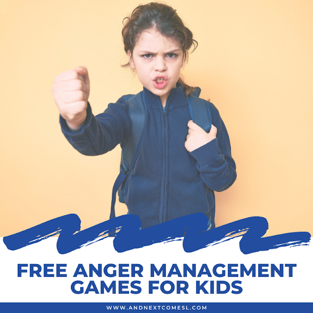 Anger management games for kids and teens