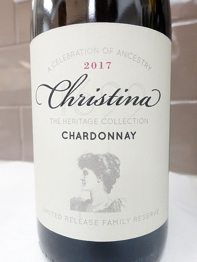 Christina The Heritage Collection Chardonnay 2017 (90 pts)