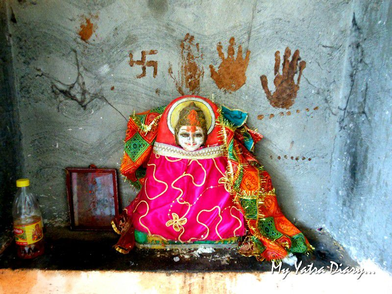 Deity of Mata ShaktiSthal Jeen Mata Temple Sikar Rajasthan