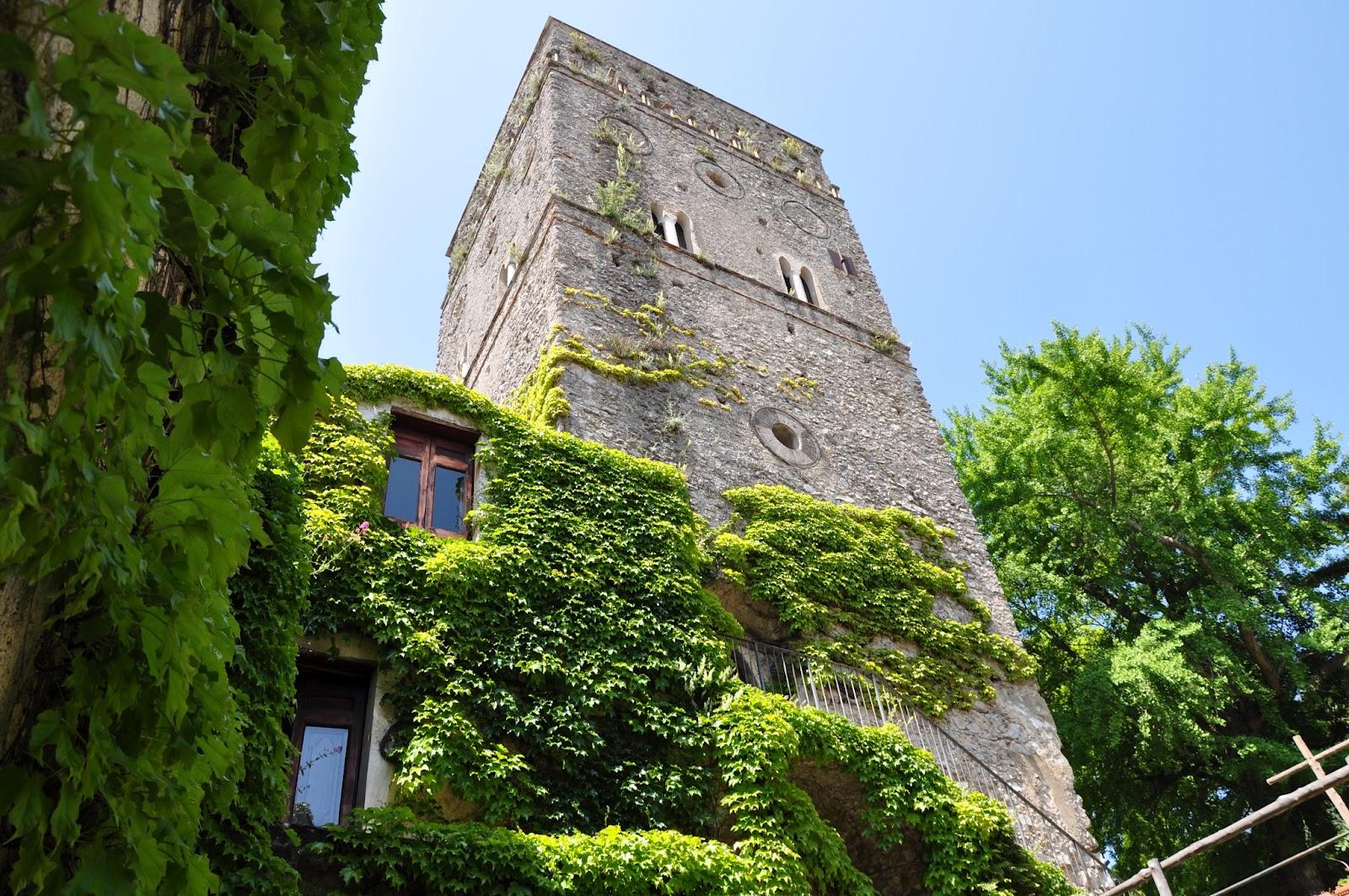 Город Равелло в Италии, сады и захватывающие виды