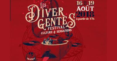 Vin - Vos événements à ne pas manquer en Août 2018 Les Divergents Festival à Montagnac
