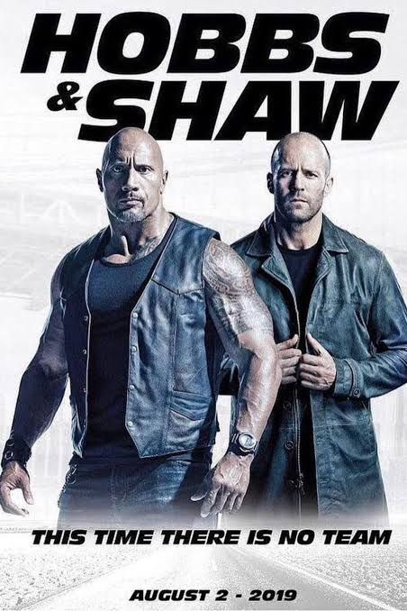 Hobbs And Shaw 480p 720p 1080p x264 BRRip HDRip BluRay HDCam Dual