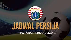Jadwal Terbaru Persija Putaran Kedua Liga 1 2018