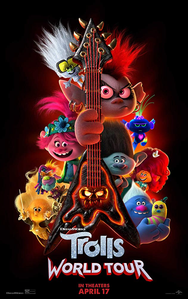 Trolls World Tour 2020 English 300MB HDCAM Download