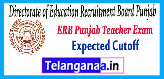 ERB Punjab Teacher Master Cadre Admit Card 2017 Expected Cutoff Result