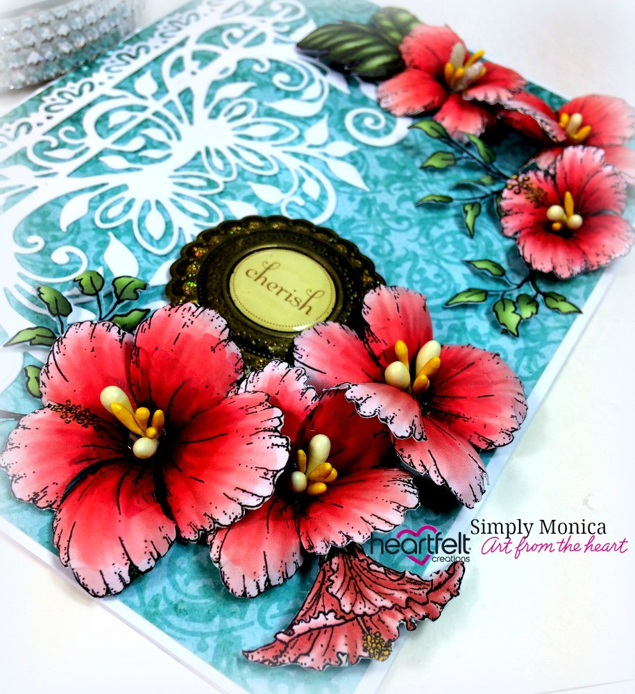 Paper Pieced Flowers Simply Monica