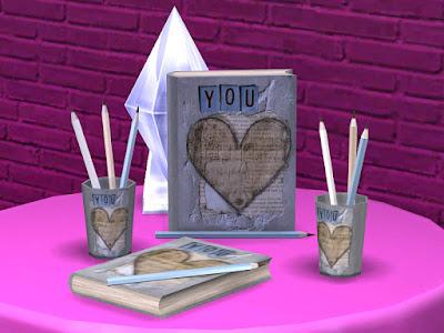 романтический чтиль для The Sims 4 , интерьер в стиле романтический для The Sims 4 , стиль романтический в интерьере, романтический стиль для The Sims 4, интерьер для The Sims 4, спальня в стиле романтический для The Sims 4, гостиная в стиле романтический для The Sims 4, столовая в стиле романтический для The Sims 4, кабинет в стиле романтический для The Sims 4, дом в стиле романтический для The Sims 4, веранда в стиле романтический для The Sims 4, дворик в стиле романтический для The Sims 4, комната в стиле романтический для The Sims 4, мебель в стиле романтический для The Sims 4, декор в стиле романтический для The Sims 4, Romantic Writer set Романтический писатель для The Sims 4 Этот уникальный набор создан специально для романтических писателей. Откройте книгу, возьмите карандаш и начните писать. О чем будет ваша история? Автор: soloriya