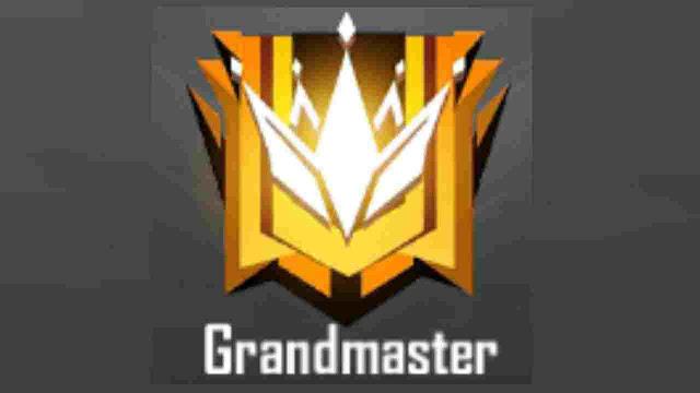 Rank grandmaster ff