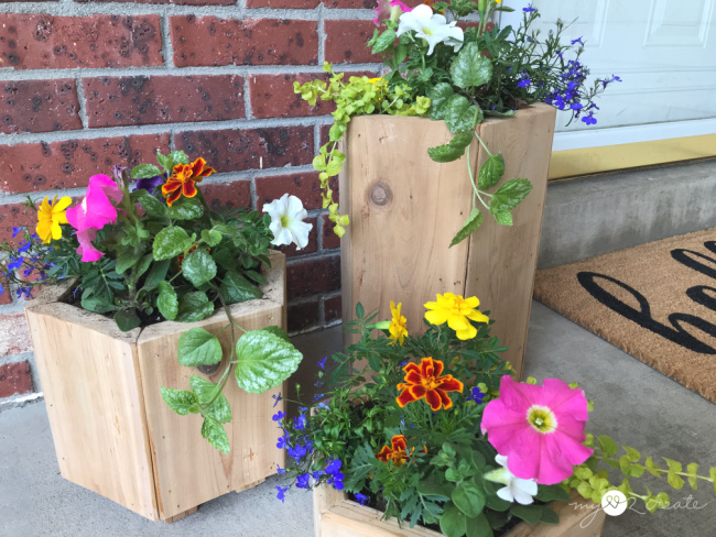Easy DIY Planters, MyLove2Create