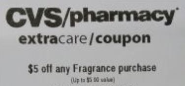 $5.00/1 Any Fragrance CVS crt Coupon (Select CVS Couponers)