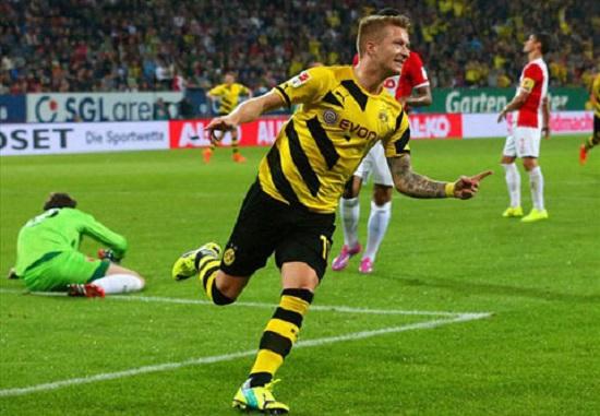 Bàn thắng thứ 2 cho Dortmund.