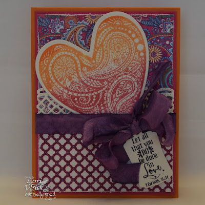 Our Daily Bread Designs Stamp sets: Boho Love, Our Daily Bread Designs Paper Collection: Beautiful Boho, Our Daily Bread Designs Custom Dies: Ornate Hearts, Mini Tags, Beautiful Borders