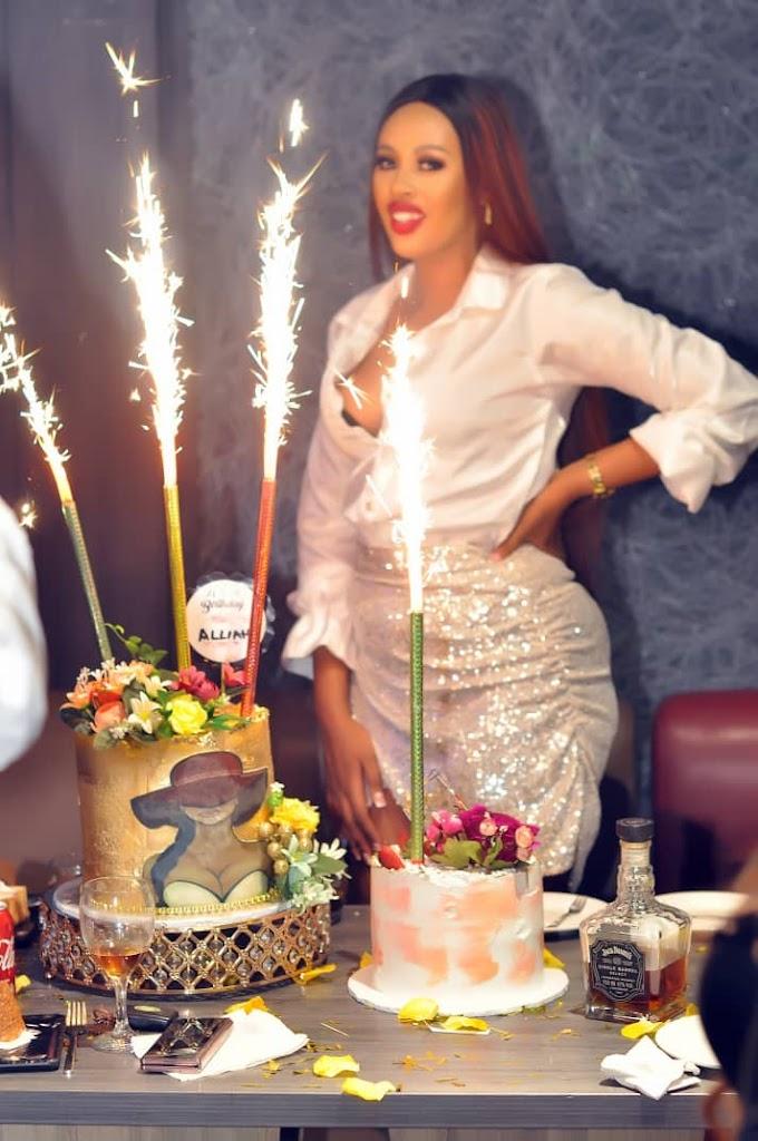 Top Rwanda Actress Isimbi Alliance Celebrates Birthday Reception With Friends In Abuja