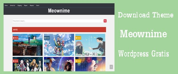 theme meownime free