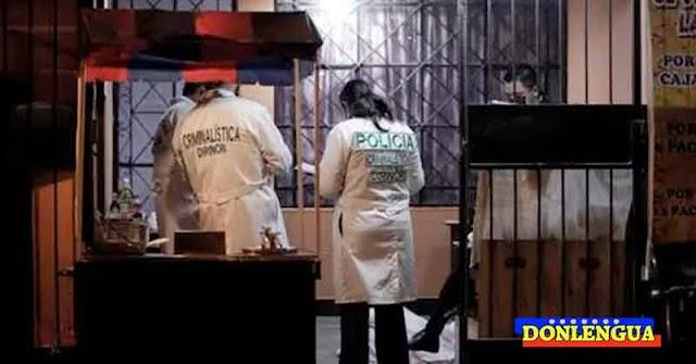 Mecánico venezolano asesinado a tiros en Perú