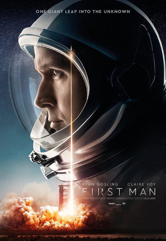 Download First Man (2018) Full Movie in Hindi Dual Audio BluRay 720p [1GB]