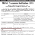 M.Phill. (Law) Programme Notification - 2019 - Dr. C V Raman University, Bilaspur (CG)