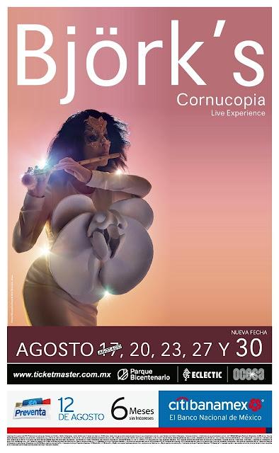 Björk en Ciudad de México
