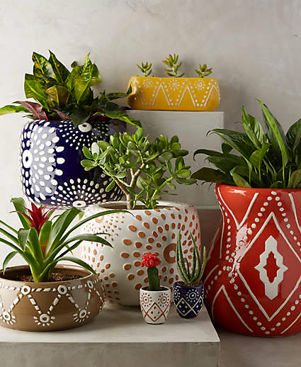 Ceramic Pot Designs Ideas: An Indian Design & Decor Blog