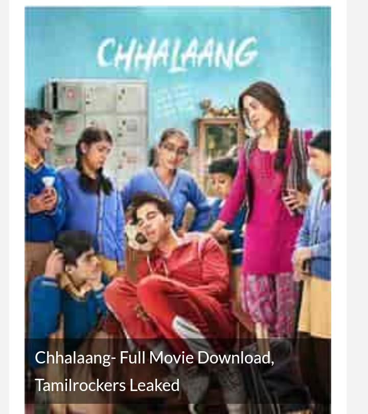 Chalang - full movie download, tamilars leaked
