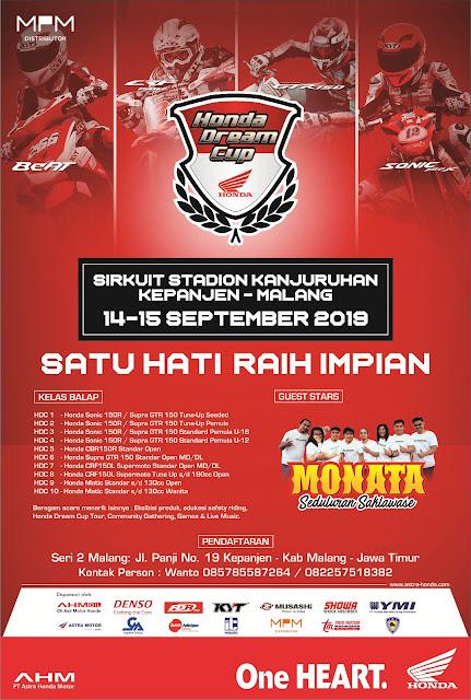 Pendaftaran Honda Dream Cup