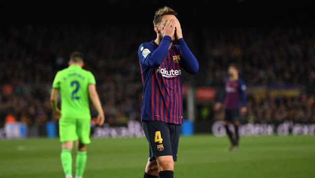 La photo d'Ivan Rakitic qui rend furieux les supporters du Barça