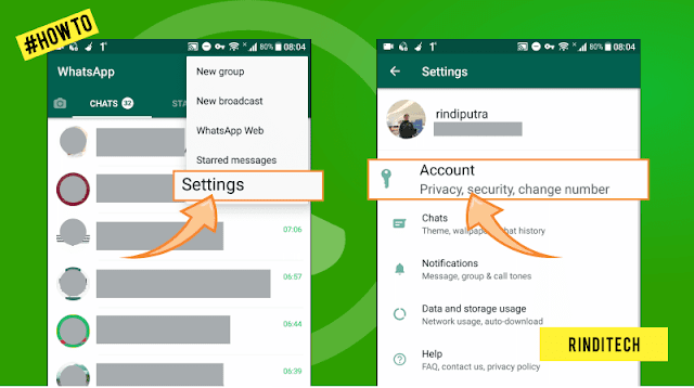 Cara Agar Status WhatsApp tidak bisa dilihat oleh Teman