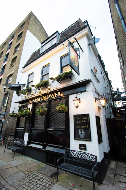 The Myflower pub a Rotherhithe-Londra