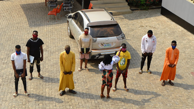 Seven Internet fraudsters arrested by EFCC in Ibadan