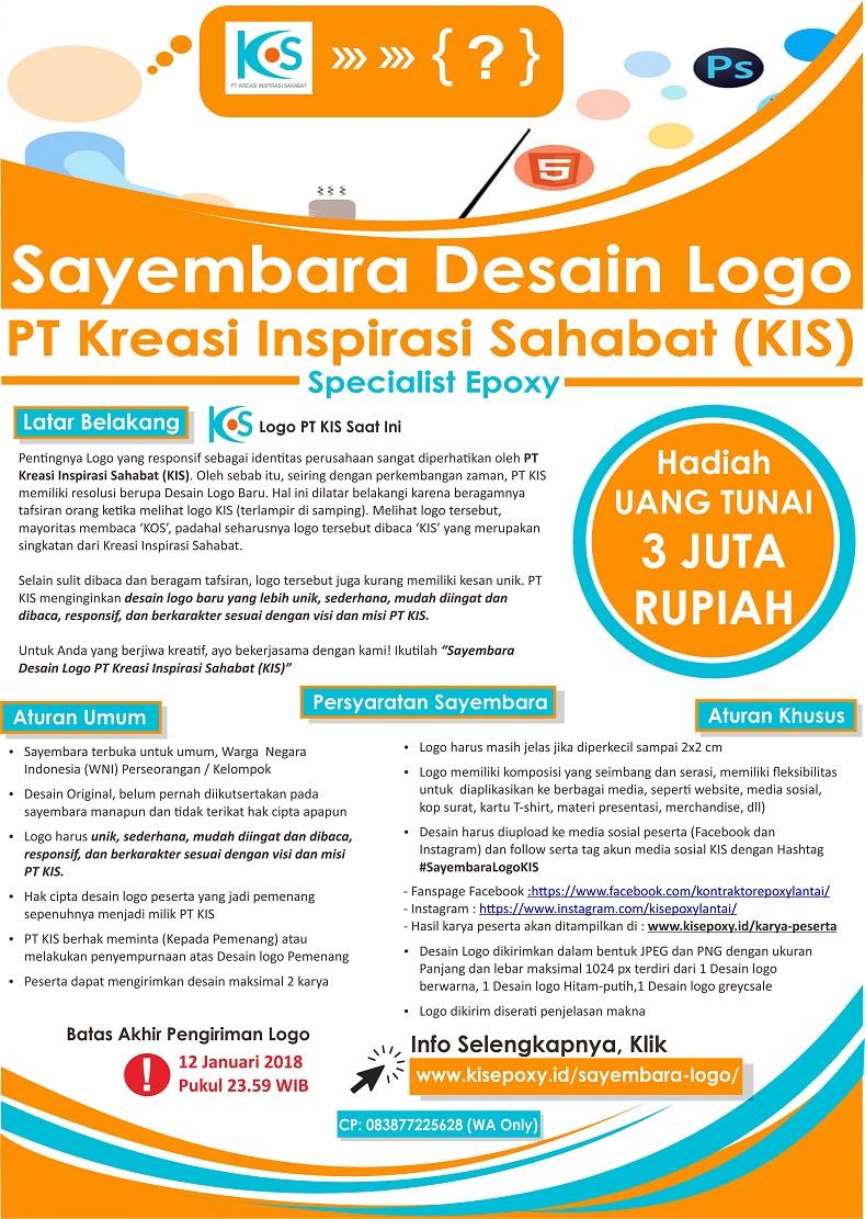 Sayembara Desain Logo PT Kreasi Inspirasi Sahabat (KIS) Untuk Umum