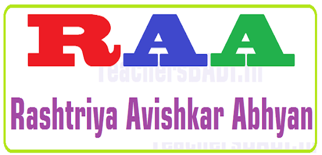 TSSA Instructions,Implementation of Rashtriya Avishkar Bhavan,RAA