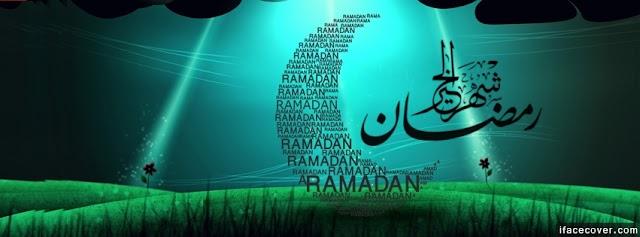 'Blessing Ramadan' Facebook Cover For 2020
