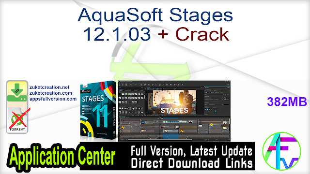 AquaSoft Stages 12.1.03 + Crack