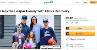 GoFundMe: Gaspar Family fund raiser