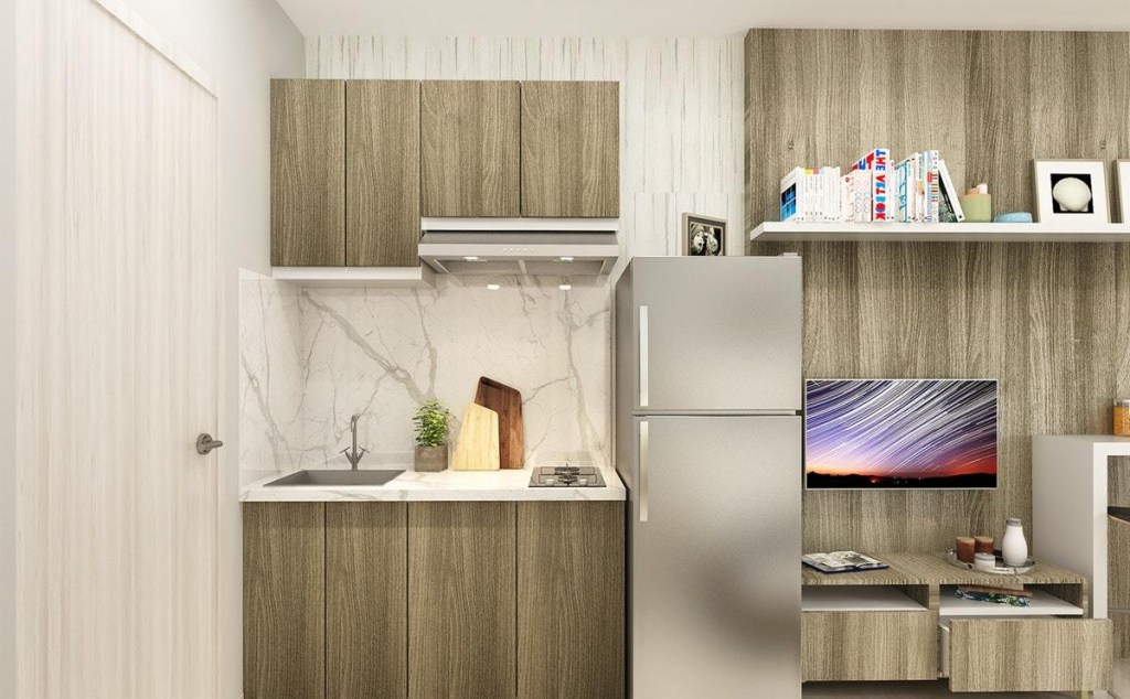 Minimalist Kitchen Apartment Model