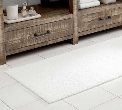 Pottery Barn Organic Loop Bathroom Rug