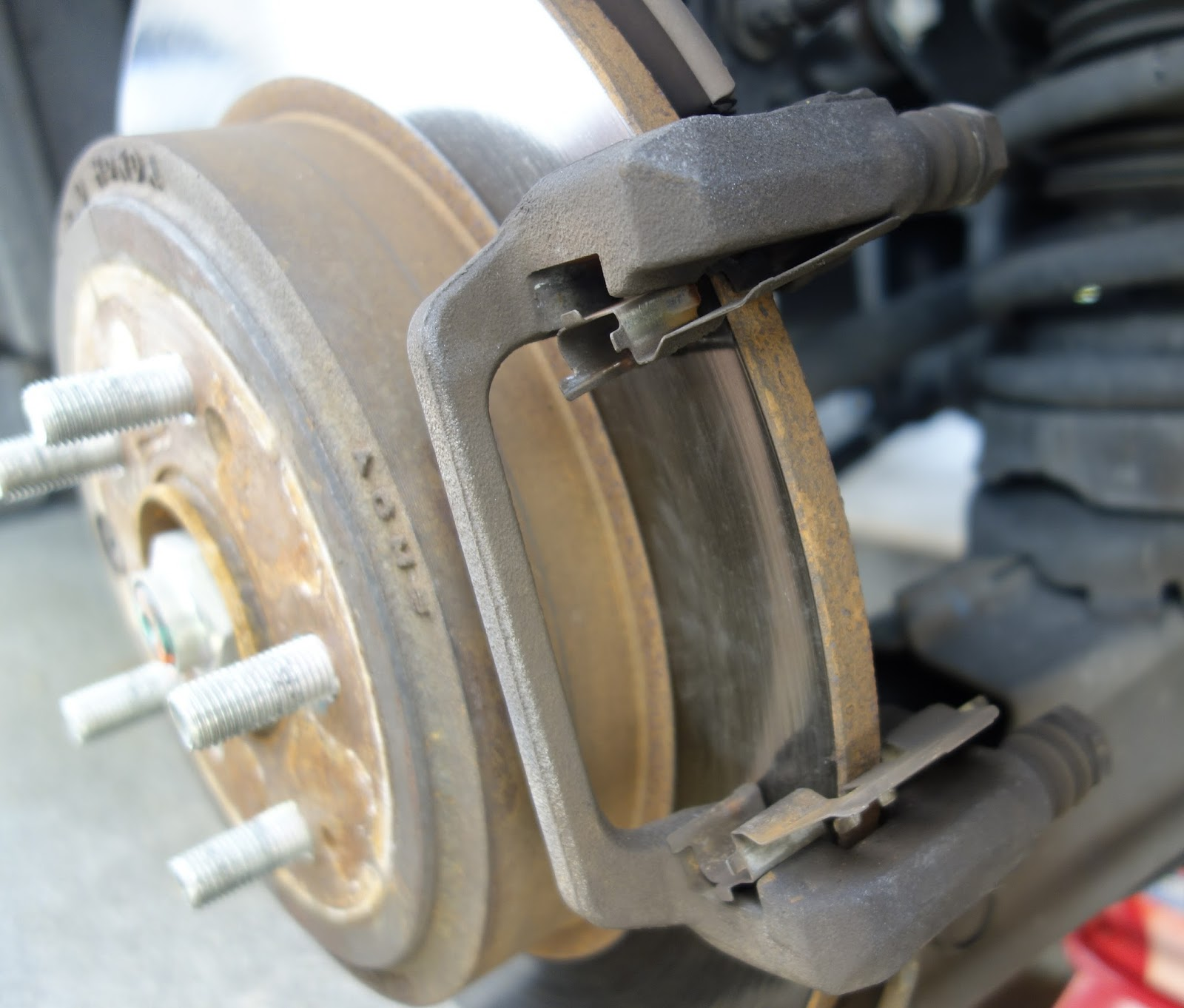 Experiences With My Car: How To Change Brake Pads And