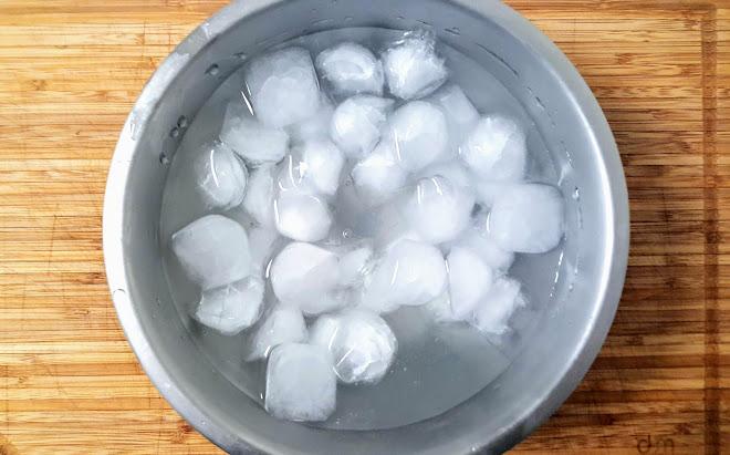 Cuisson sous-vide : Refroidir rapidement après cuisson