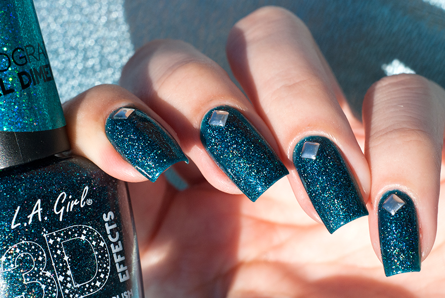 L.A. Girl Teal Dimension + заклепки