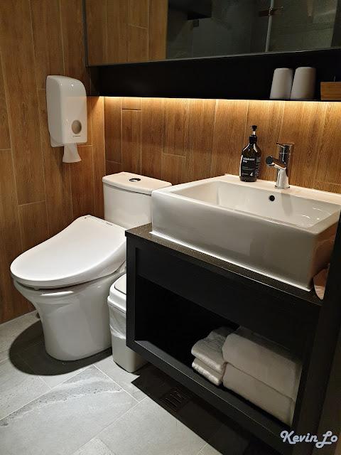 康橋慢旅浴室洗手台
