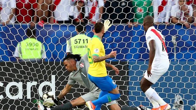 Brazil vs Peru First Goal