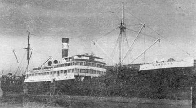 SS Barbara, sunk on 7 March 1942 worldwartwo.filminspector.com