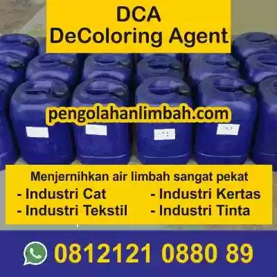 Harga DCA Decoloring Agent  | Harga Koagulan DCA Ady Water | DCA Penjernih Air Limbah Industri Tekstil | Koagulan Limbah Cair
