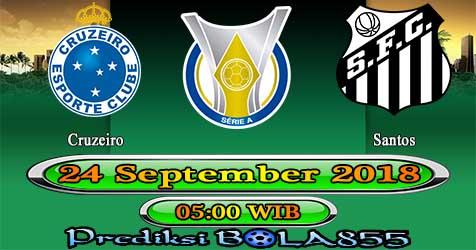 Prediksi Bola855 Cruzeiro vs Santos 24 September 2018