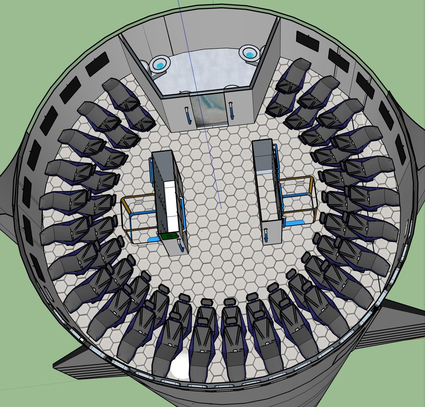 Spacex Starship Interior - Cutaway Diagram Of Spacex Starship Spacex ...