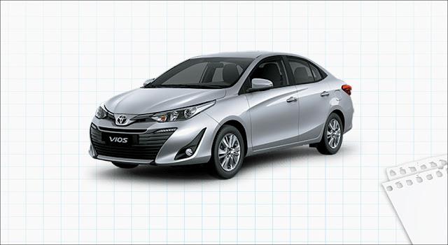 Toyota Vios 1.5G CVT 2019