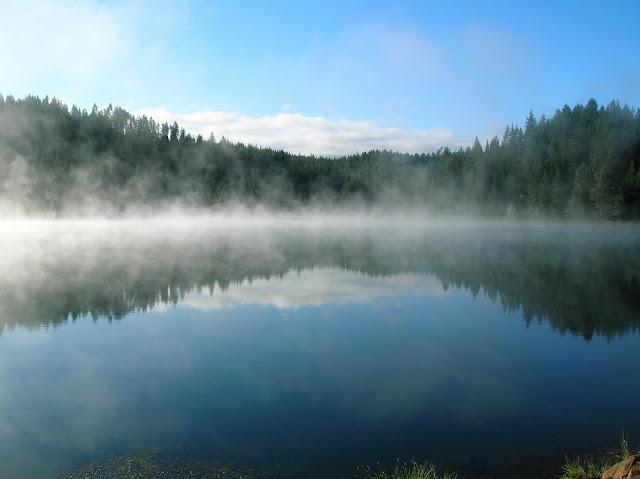 Nebbia da Umidificazione sul Lago