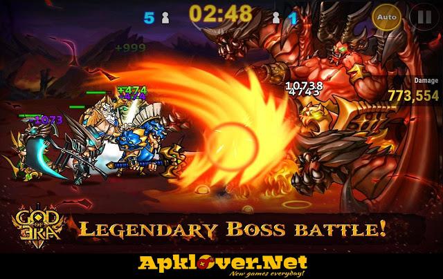 God of Era Heroes War MOD APK unlimited money