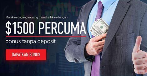 Bonus tanpa deposit forex